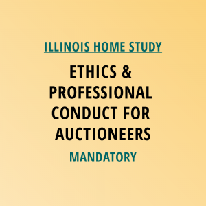 Novalis Learning | Illinois Home Study | Ethics & Professional Conduct For Auctioneers