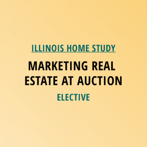 Novalis Learning | Illinois Home Study | Marketing Real Estate At Auction