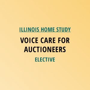 Novalis Learning | Illinois Home Study | Voice Care For Auctioneers