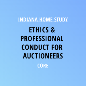 Novalis Learning | Indiana Home Study | Ethics & Professional Conduct For Auctioneers