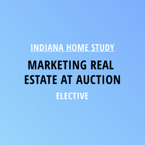 Novalis Learning | Indiana Home Study | Marketing Real Estate At Auction