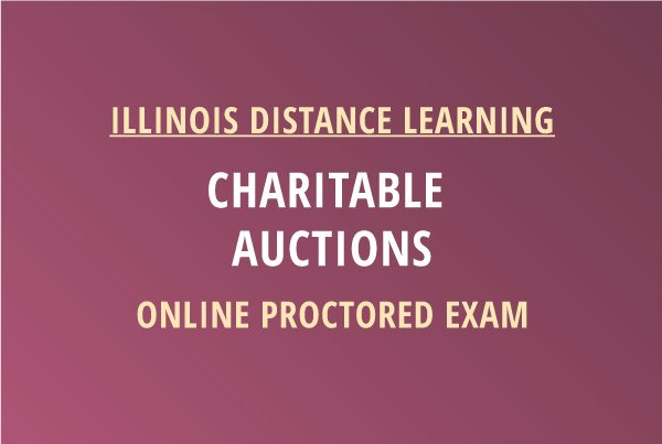 Novalis Learning | Charitable Auctions Proctored Exam