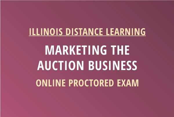 Novalis Learning | Marketing the Auction Business Proctored Exam