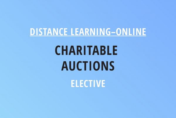 Novalis Illinois Distance Learning Online Charitable Auctions – Elective Class