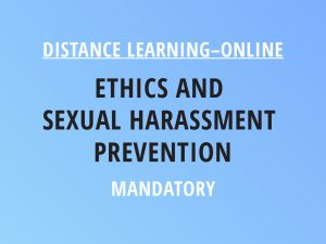 Novalis Illinois Distance Learning Online Ethics and Sexual Harassment Prevention - Mandatory Class