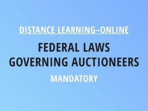 Novalis Illinois Distance Learning Online Federal Laws Governing Auctioneers - Mandatory Class