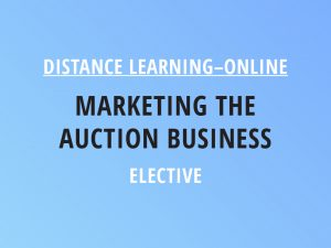 Novalis Illinois Distance Learning Online Marketing the Auction Business - Elective Class