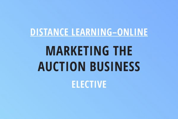 Novalis Illinois Distance Learning Online Marketing the Auction Business – Elective Class